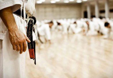 Karate eğitimi
